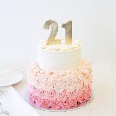 21st Cake 7