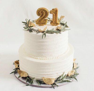 21st Cake 18