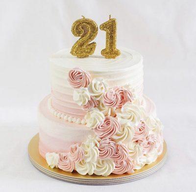 21st Cake 19