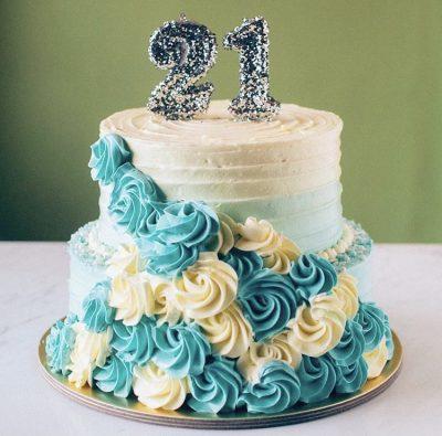 21st Cake 20