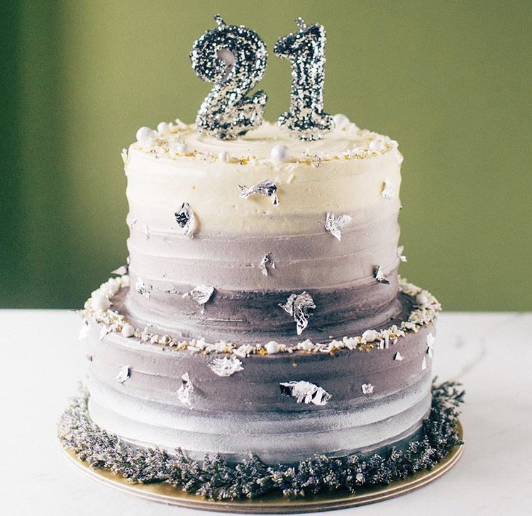 21st Cake 21